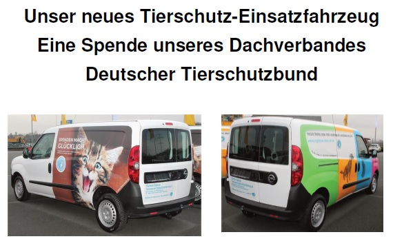 unser neues Einsatzfahrzeug